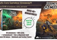 Legacy Of Atmos The Tellus Crusade Giveaway