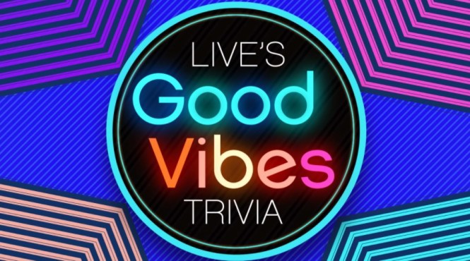 Live With Kelly And Ryan Good Vibes Trivia Sweepstakes