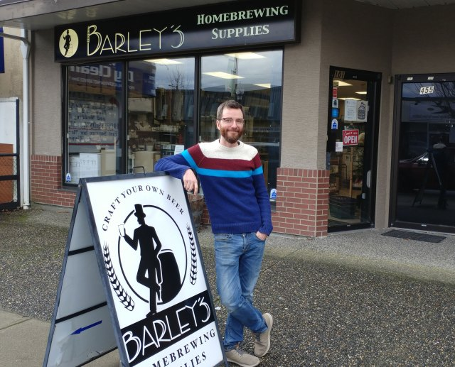 Q&A: Barley's Homebrewing Supplies – Curtis Van Marck (New Westminister, BC)