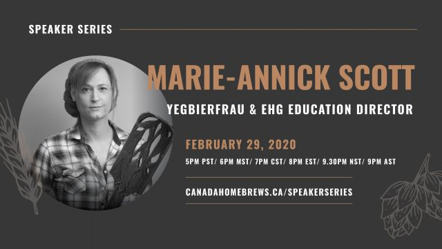 Speaker Series: Marie-Annick Scott (Edmonton, AB)