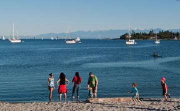 Saanich, British Columbia (Ảnh: Chris Cheadle/Getty Images)