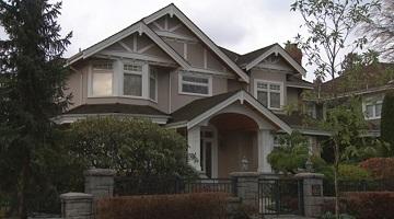 Nhà của Pei Jia Li ở khu nhà giàu Kerrisdale (Ảnh: Harold Dupuis/CBC)