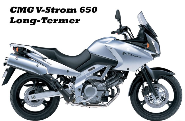 Suzuki V-Strom 650 long-termer, Part 1
