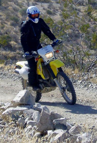 Rockier roads were always a bit of a challenge. Photo: RH