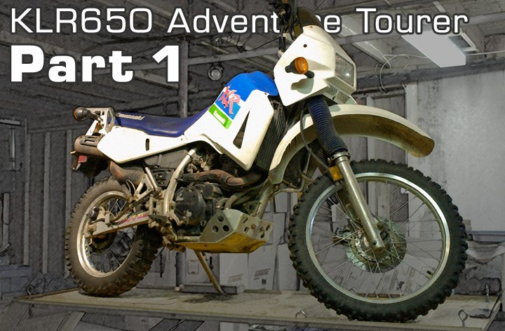 Project – KLR Adventure Tourer – 1