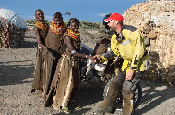 Rene Cormier booking African tours for 2012