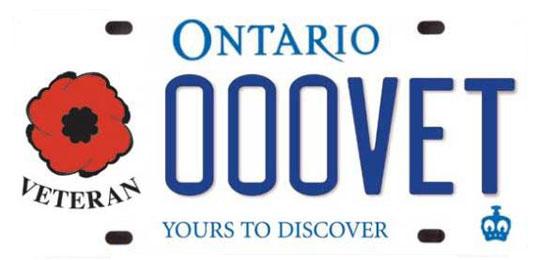 Veterans plates for bikes