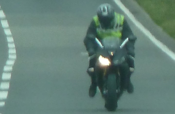 New Triumph Daytona 675 spotted!