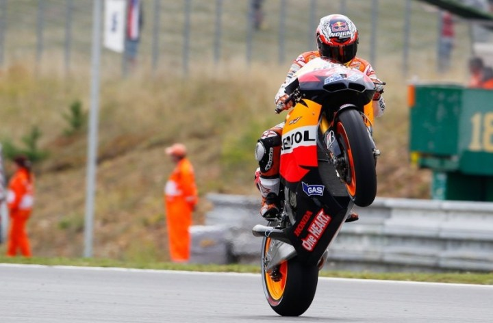 Honda on top in Moto GP