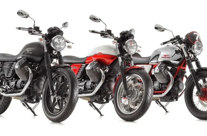 Moto Guzzi updates motor, builds new versions of V7