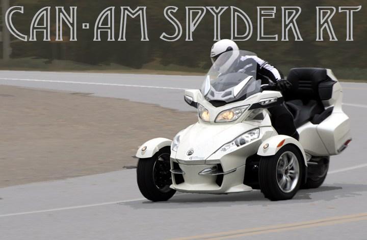 Spyder RT – Tested