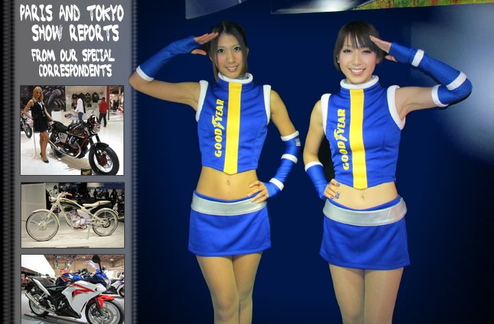 Paris and Tokyo – CMG show reports