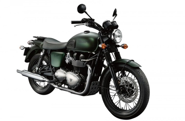 Triumph announces pricing for new 2012 models