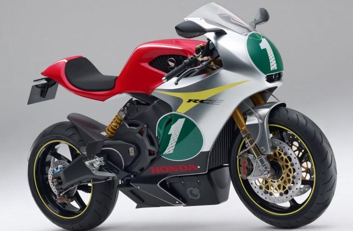 Honda to race electrics
