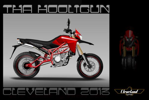 Cleveland Cyclewerks shows off the Hooligun