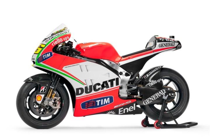Ducati dévoile les spécifications et une vidéo de la GP12