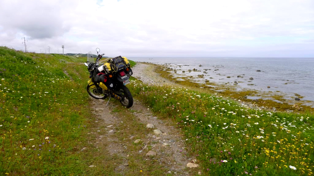 Travel: Labrador - on a rat KLR650