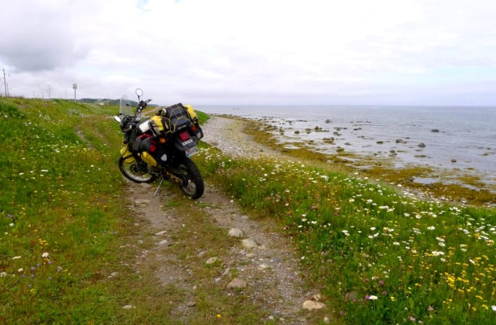 Travel: Labrador – on a rat KLR650