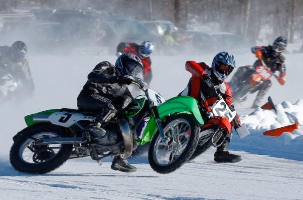 This Weekend Alberta Ice Racing Canada Moto Guide
