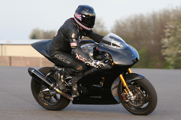 Norton readying for Isle of Man