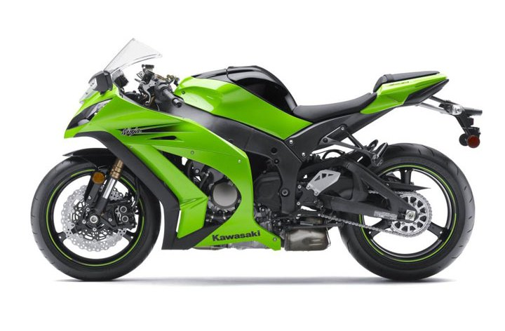 ZX-10 gets electronic steering damper.