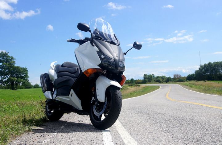 Test Ride: Yamaha TMAX scooter
