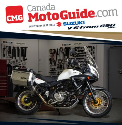 The project V-Strom couldn't get into the same dirt spectrum as the GSA