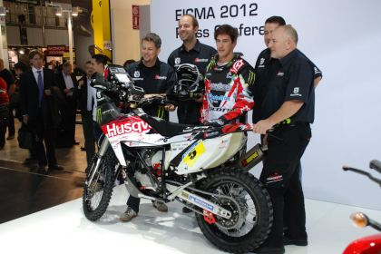 Husqvarna's rally bike performed well at Dakar this year, winning several stages. Maybe KTM wants to eliminate the competition?