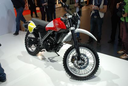 Several bikes in Husky's lineup were built around BMW's made-in-China motors (like this Baja concept). Those bikes could possibly continue in production.