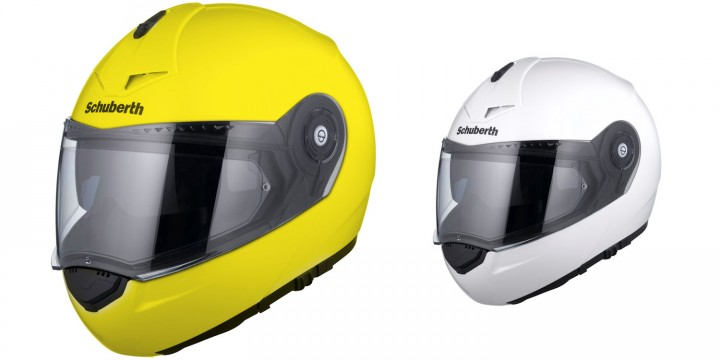 The hi-viz helmet will cost you an extra $30, at $869 MSRP.
