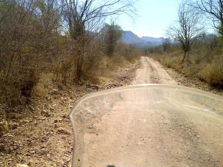 The directions to El Fuerte were a bit vague, but the dirt road seemed safe enough at first.