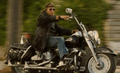 Kim Coates as Zo, a biker werewolf, in Skinwalkers.