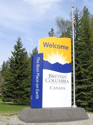 Welcome to British Columbia, where you'll get an automatic three demerits with every speeding ticket. Photo: Wikipedia