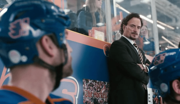 Kim Coates, in a scene from Goon.