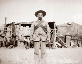 Pancho Villa's days may have come to an end, but his profession is still alive and shooting.