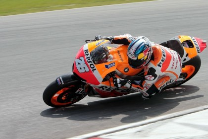 Pedrosa was the frontrunner during testing, aboard the Repsol Honda. Photo: MotoGP
