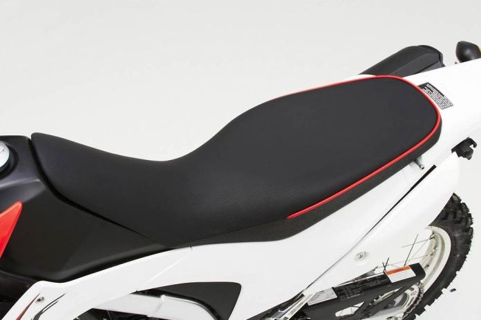 It might not look that exciting, but if you're planning on taking your CRF250L a long distance, this Corbin could be a lifesaver.