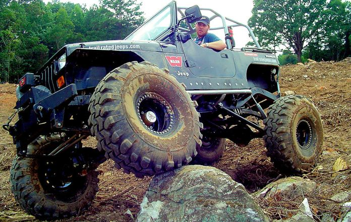 SUVs were originally built for offroad action, taking after tough vehicles like this Jeep CJ-7. Photo: TheUsedJeep.com