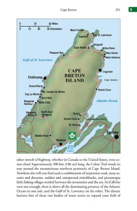 One of the authors - Rannie Gillis - hails from Cape Breton, so that area is very well covered in the book.