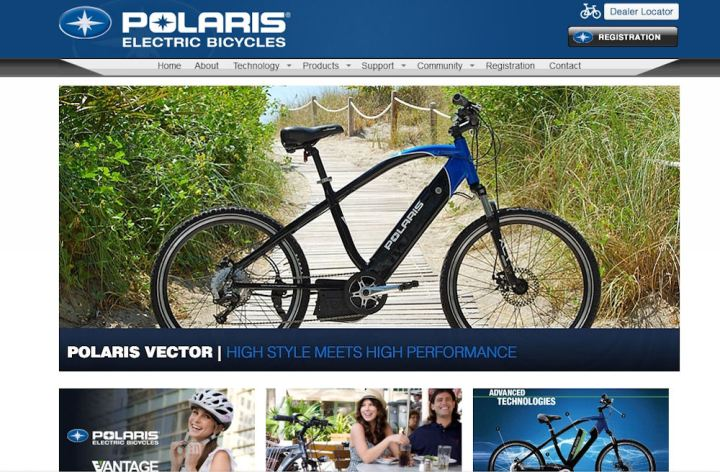 Polaris to release electric bicycle