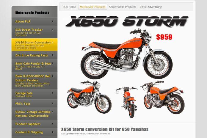 xs650 Hurricane