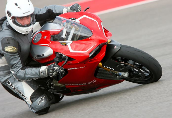 Costa says he'd keep his Panigale R on the track if he bought one.