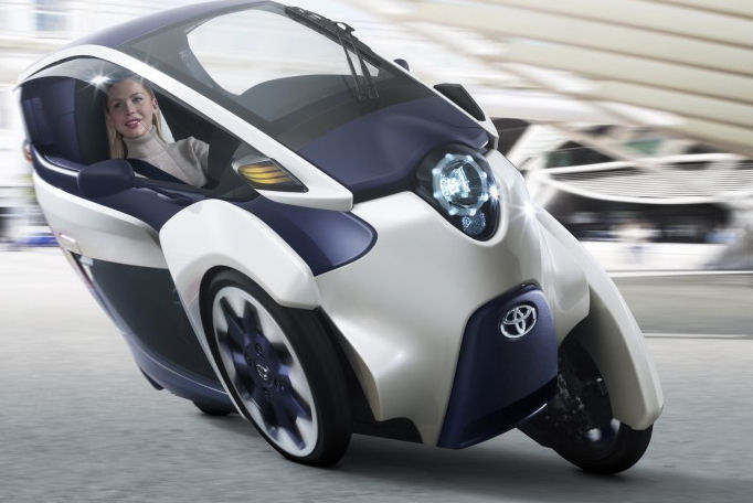 Toyota unveils three-wheeler i-ROAD
