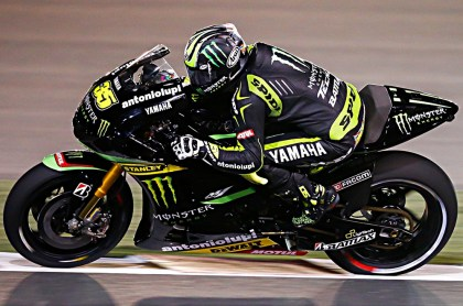 Cal Crutchlow also put in a very strong showing on his Tech 3 Yamaha.