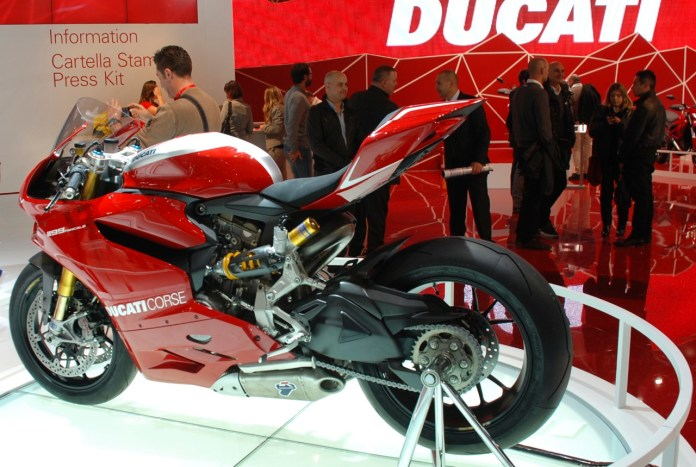 Ducati has been a bit slow coming out of the gate, with Q1 sales down in 2013.