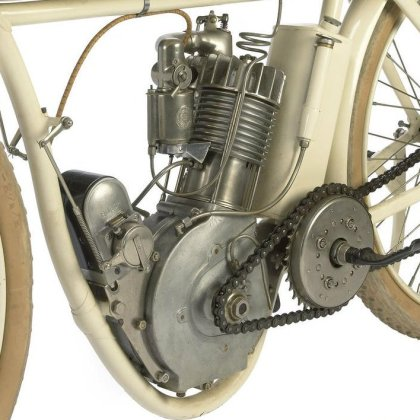 The latest in racing tech, if you were around in 1914.