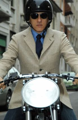 Borile can also make you a classy suit, if you find yourself in need of new threads. Photo: Borile