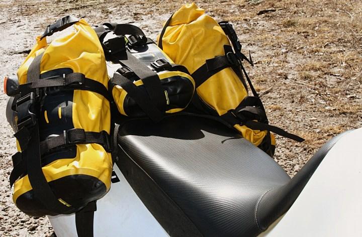 Luggage Comparo: 1) Wolfman Rolie bags