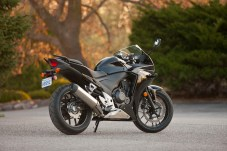 The CBR's sporty styling will no doubt account for plenty of sales.
