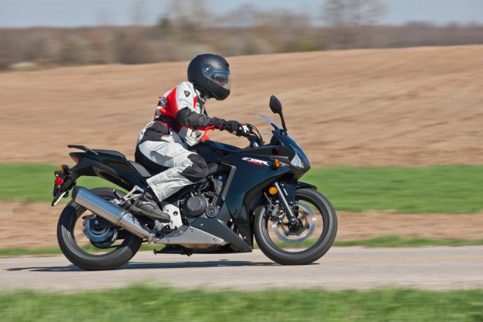 Honda had two of their new 500s at the launch.